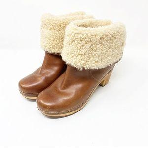 UGG   Lynnea Clog Shepa Boots